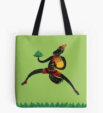 Hanuman's Leap Tote Bag