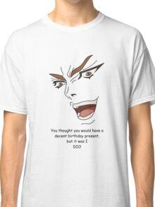Happy Birthday Spicy BBQ Anime Bowser Summertime JoJo Danny Classic T-Shirt