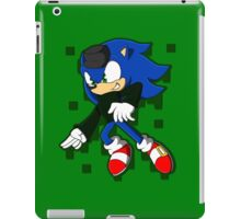Clever Sonic iPad Case/Skin