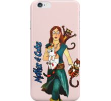 "Skyecatz: ""Mother of Cats"" iPhone Case/Skin"