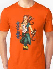"Skyecatz: ""Mother of Cats"" Unisex T-Shirt"