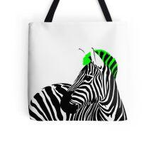 Punk Zebra Tote Bag
