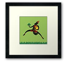 Hanuman's Leap Framed Print
