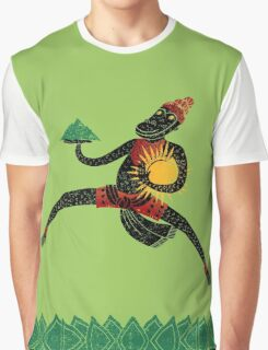 Hanuman's Leap Graphic T-Shirt