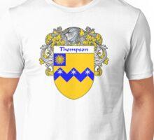Thompson Coat of Arms / Thompson Family Crest Unisex T-Shirt