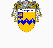 Thompson Coat of Arms / Thompson Family Crest Unisex T-Shirt