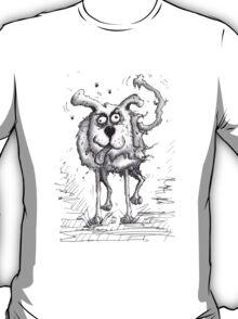 Shaggy Dog Hound T-Shirt