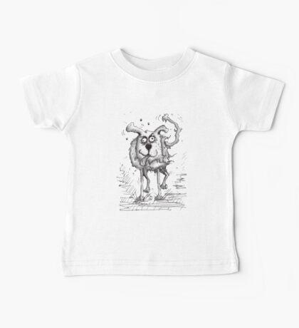 Shaggy Dog Hound Baby Tee