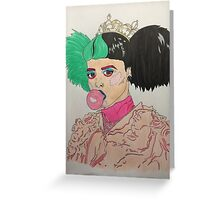 Melanie Martinez (drawing) Greeting Card
