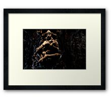 Path of immortality Framed Print