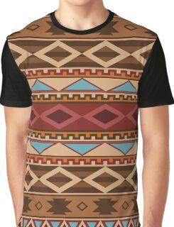 Navajo Native American Pattern Graphic T-Shirt