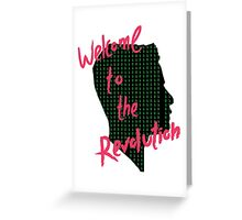 Mr Robot: Welcome to the Revolution, Elliot Binary Head Greeting Card