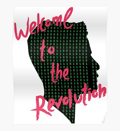Mr Robot: Welcome to the Revolution, Elliot Binary Head Poster
