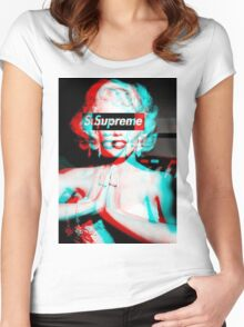 marlyn mondro Women's Fitted Scoop T-Shirt