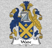 Wade Coat of Arms / Wade Family Crest One Piece - Long Sleeve