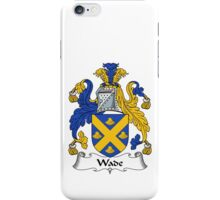 Wade Coat of Arms / Wade Family Crest iPhone Case/Skin