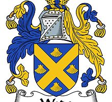 Wade Coat of Arms / Wade Family Crest by William Martin