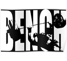 BENCH PRESS (Iconic) Poster