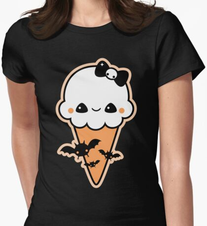 Cute Bat Cream Cone T-Shirt