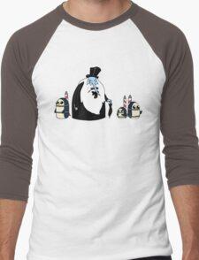 Ice King Crossover Penguin Men's Baseball ¾ T-Shirt