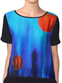 Points of Interest  Chiffon Top