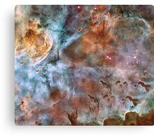 Abstracted Nebula Design Prints Canvas Print