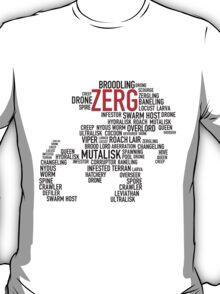 SC Zerg Swarm Host Type - red T-Shirt