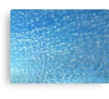 Powdered Sky Canvas Print