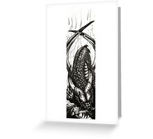 Let Sleeping Dragons Lie Greeting Card