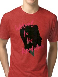Mr Robot: Welcome to the Revolution, Elliot Binary Head Tri-blend T-Shirt