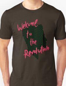 Mr Robot: Welcome to the Revolution, Elliot Binary Head Unisex T-Shirt