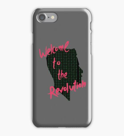 Mr Robot: Welcome to the Revolution, Elliot Binary Head iPhone Case/Skin