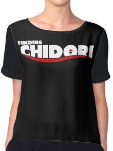 Finding Chidori Chiffon Top