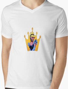 Cinderfella Mens V-Neck T-Shirt
