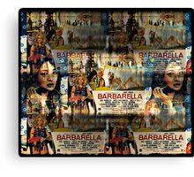 stratosphere girl meets barbarella Canvas Print