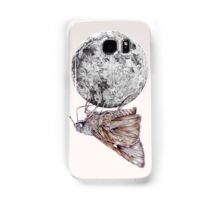 In which a moth is enticed by the light of the moon Samsung Galaxy Case/Skin