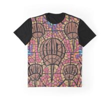Horseshoe Crab Stained Glass  Graphic T-Shirt