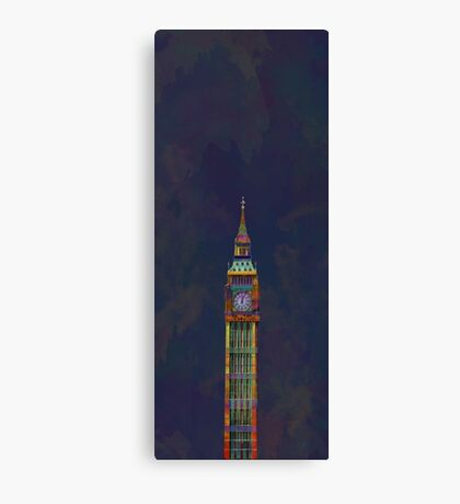 Elizabeth Tower (or Big Ben) (London, UK) Canvas Print
