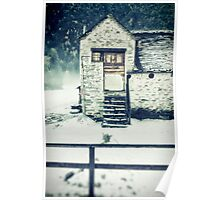 House near the wood Poster