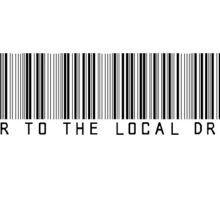 Power to the Local Dreamer Barcode Sticker