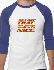 Total Conciousness! Men's Baseball ¾ T-Shirt