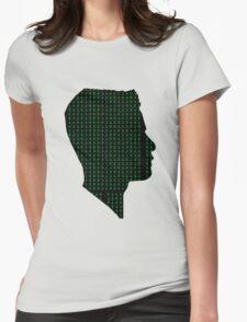 Mr Robot: Elliot Binary Head Womens Fitted T-Shirt