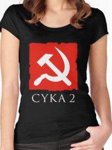 Cyka 2 - Dota 2 Women's Fitted Scoop T-Shirt