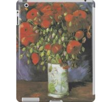 Vase with Red Poppies by Vincent van Gogh iPad Case/Skin