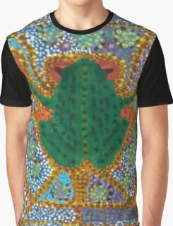 Psychedelic Frog Graphic T-Shirt