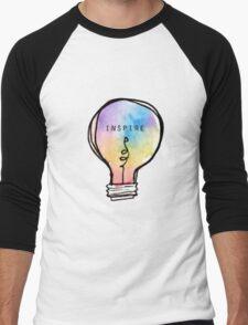 Inspire Lightbulb Men's Baseball ¾ T-Shirt