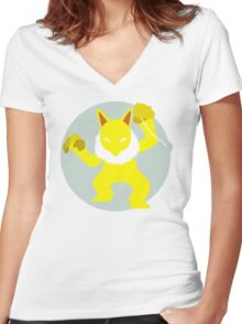 Hypno - Basic Women's Fitted V-Neck T-Shirt