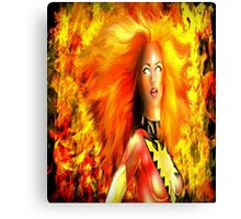 Former Flame Canvas Print