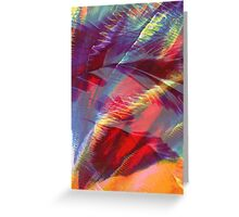 Abstract Print - Canopy Greeting Card