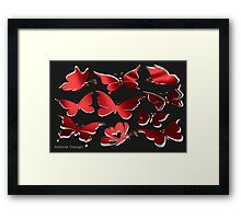 A butterfly Pattern (2320 Views) Framed Print